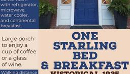 Visiting the Martinsville area, check out 1 Starling Ave for your visit
