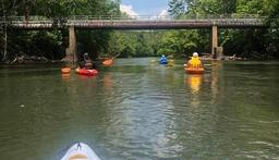 A social distancing Sunday on the Smith River